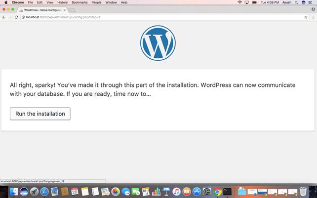 Macos WordPress 7