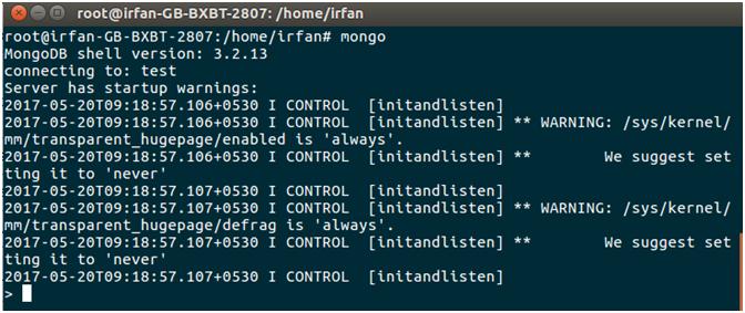MongoDB Java mongodb connectivity 4