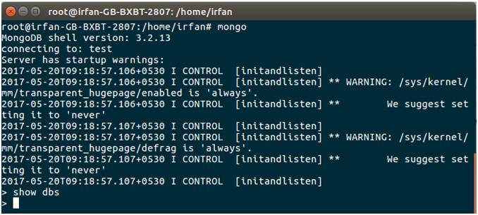 MongoDB Java mongodb connectivity 5