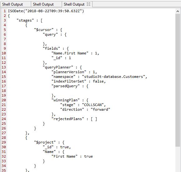 MongoDB Query Plan Cache Methods