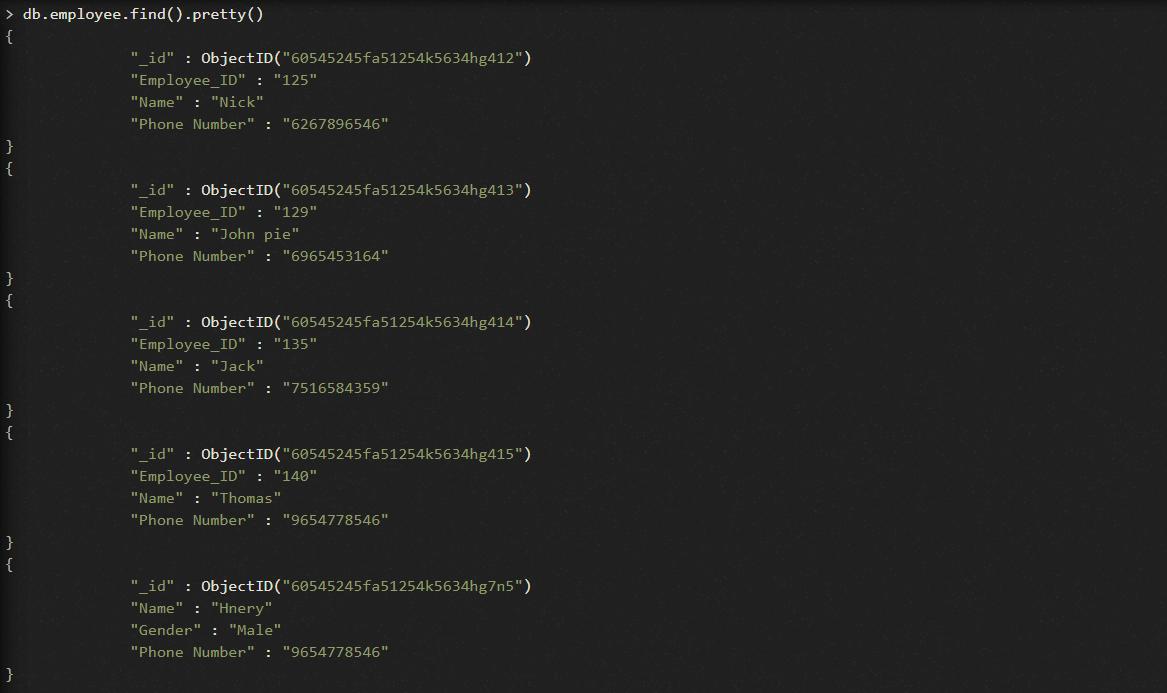 MongoDB upsert
