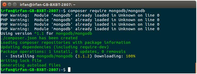 MongoDB Php mongodb connectivity 4