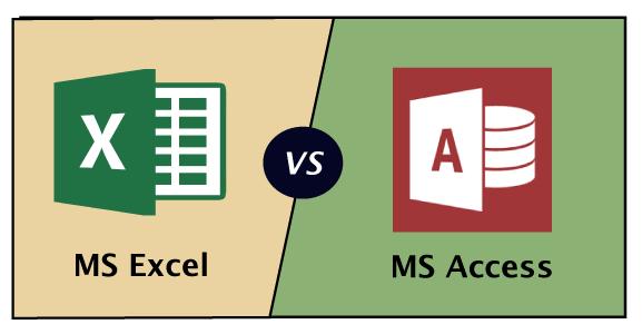 MS Excel vs MS Access