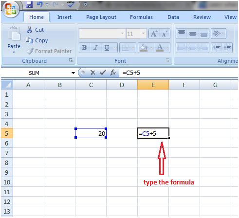 Formula in Excel 1