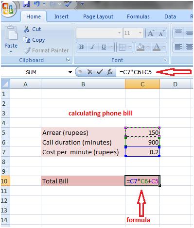 Formula in Excel 3