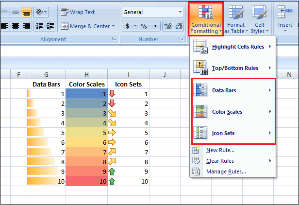 How Many Rows and Columns in Excel 2007