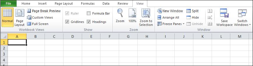 How to hide formulas in Excel