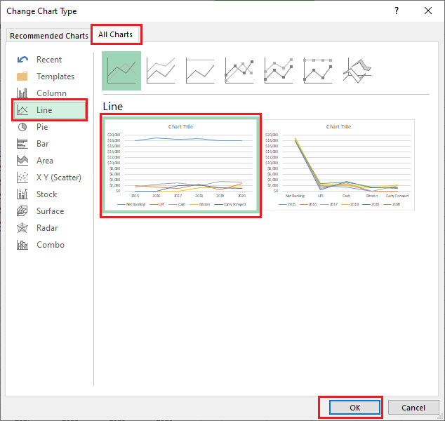 How to Insert Chart in Excel