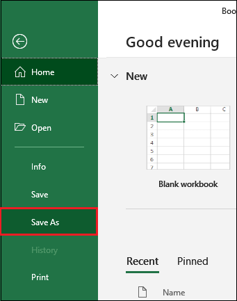 How to recover an Excel file