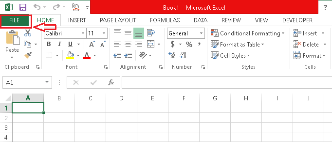 How to Save Excel File
