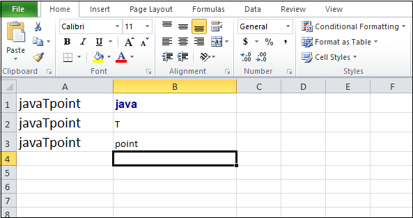 How to Separate text in Excel