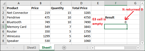 INDIRECT() function in Excel