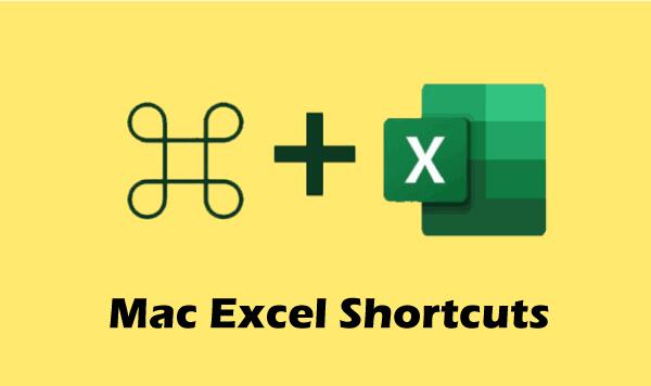 Mac Excel Shortcuts