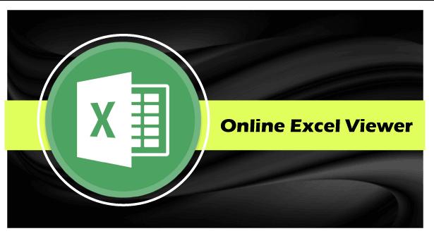 Online Excel Viewer