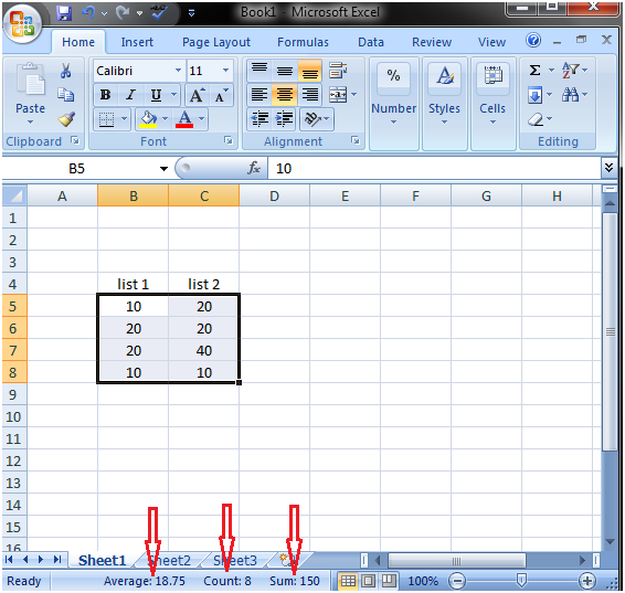 Quick Excel Functions 1