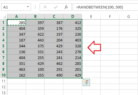 Redo Shortcut in Excel