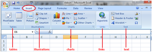 tabs in excel 2