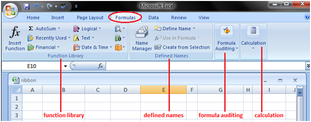 tabs in excel 4