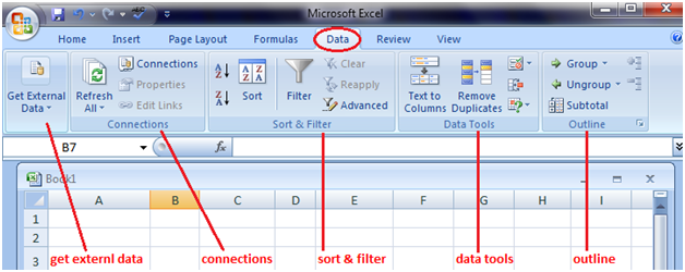 tabs in excel 5