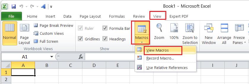 Uppercase Shortcut in Excel