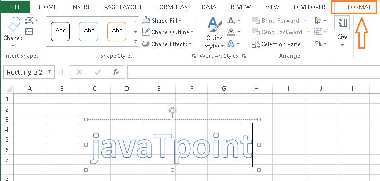 Watermark in Excel