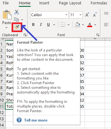 What is Formatting in Excel?