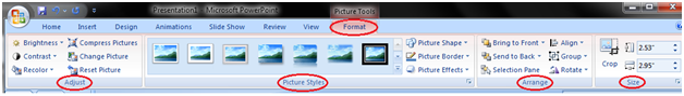 MSpowerpoint How to edit picture and clip art 1