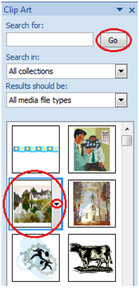 MSpowerpoint How to insert picture and clip art 5