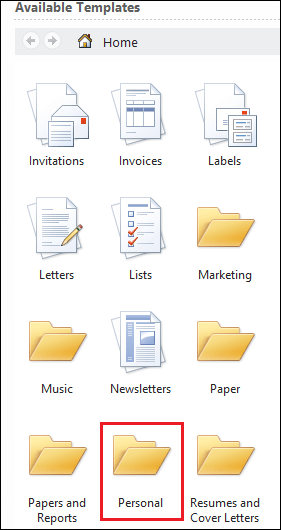 How to create a Template in Word document