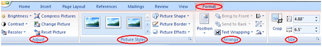 MS Word How to picture or clip art 1