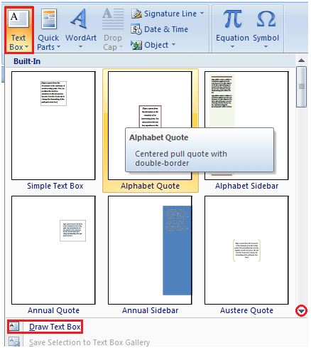 MS Word How to insert text in ms word 1