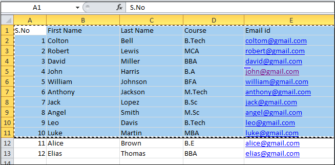 How to insert an Excel spreadsheet into a Word document