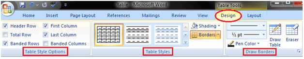 MS Word How to modify table 1