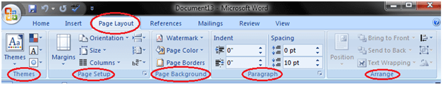 MS Word Ribbon and tags 4