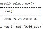 MySQL now() Function - javatpoint