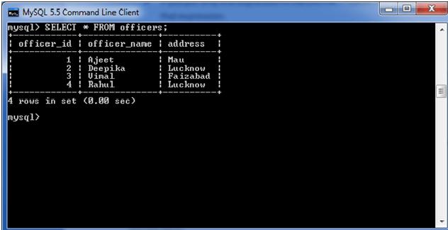 MySQL distinct clause 1
