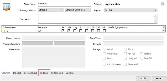 MySQL DROP Trigger
