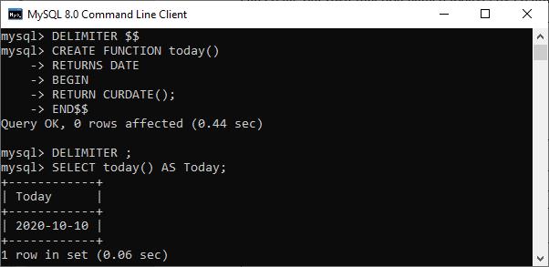 MySQL Today