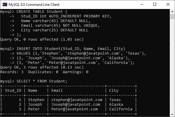 MySQL UPSERT