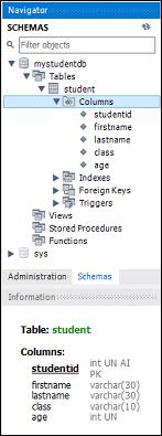 MySQL工作台