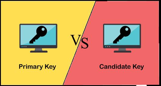 Primary Key vs Candidate Key