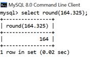 MySQL Math ROUND() Function