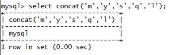 MySQL String CONCAT() Function
