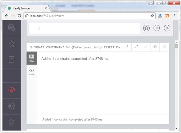 Neo4j Create constraints 1