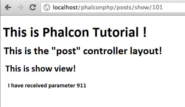 Phalcon Views 1