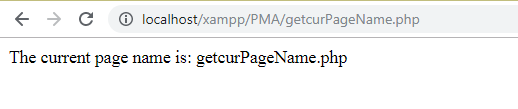 How to get current page URL in PHP 1