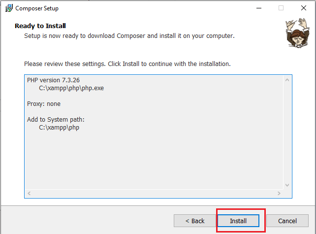 How to Install Composer on Windows