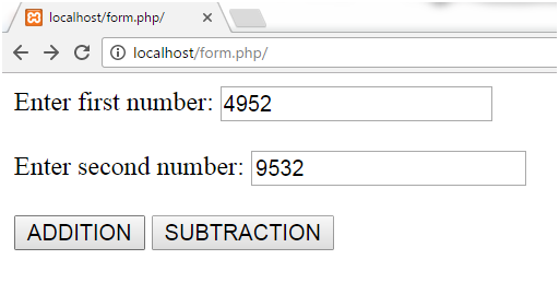 PHP Parametrized function 3