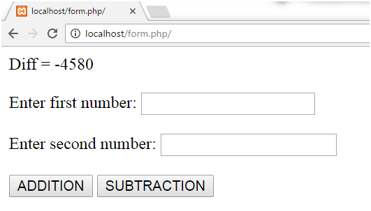 PHP Parametrized function 5
