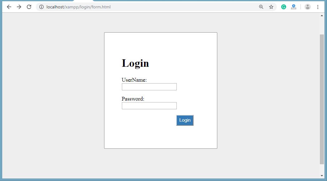 PHP MySQL Login System